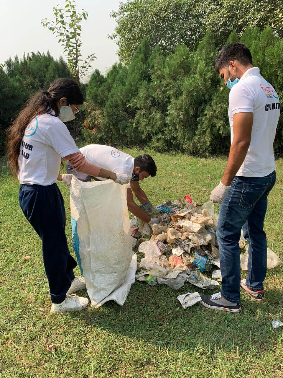 October 25 2020 - Central Park Cleanliness Drive - 4