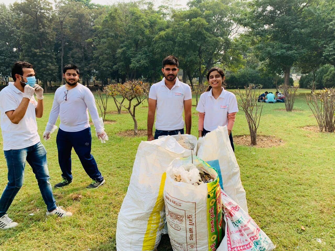 October 25 2020 - Central Park Cleanliness Drive - 5