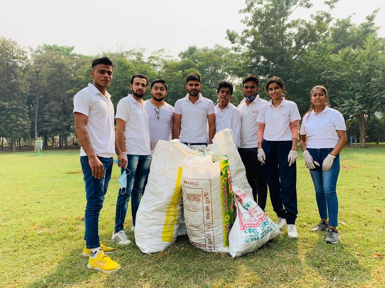 October 25 2020 - Central Park Cleanliness Drive - 6