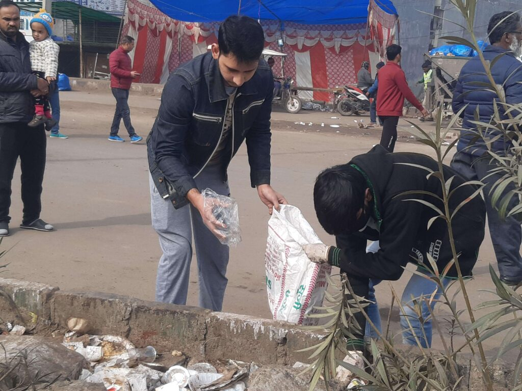 SHAHEEN BAGH CLEANLINESS DRIVE (JAN 21, 2020) - 1