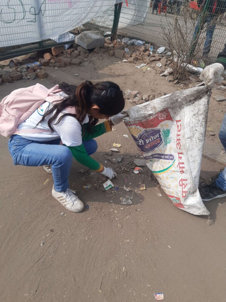 SHAHEEN BAGH CLEANLINESS DRIVE (JAN 21, 2020) - 2