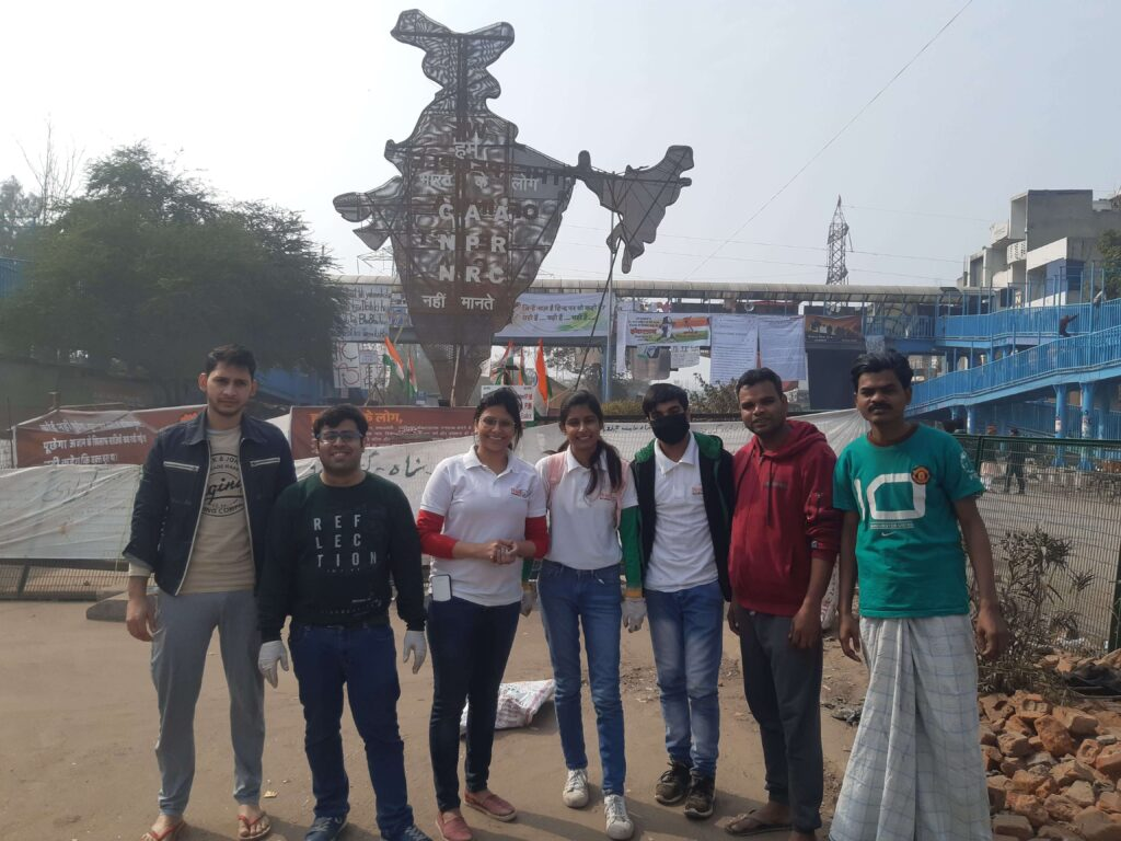 SHAHEEN BAGH CLEANLINESS DRIVE (JAN 21, 2020) - 3