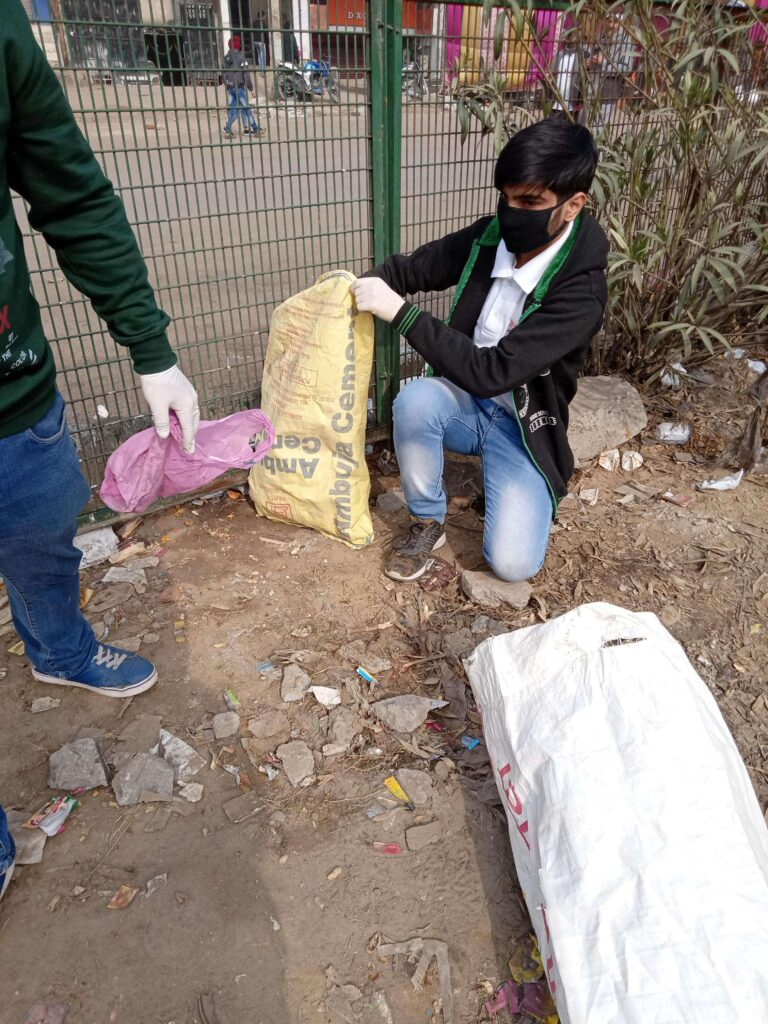SHAHEEN BAGH CLEANLINESS DRIVE (JAN 21, 2020) - 4